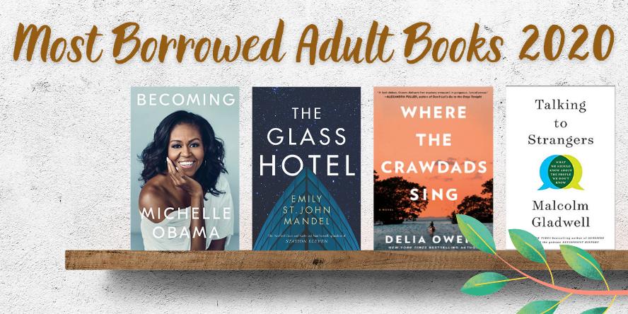 Most Borrowed Adult Books 2020