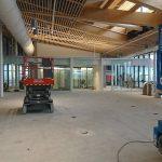 2017 Aaniin Library construction