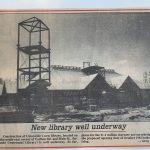 Unionville Library Built - 1983