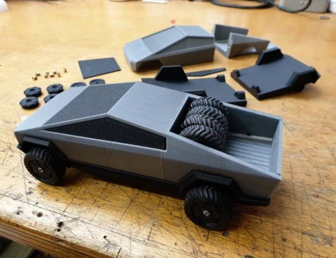 Cyber Truck - 3D Printer