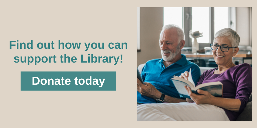 Learn how you can support the Library by donating