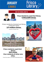 January 2020 Frisco Public Library City Council Report