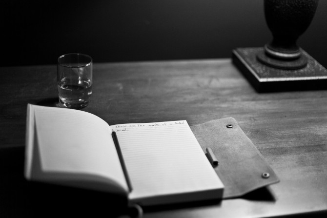 notebookBW