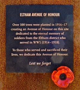 Eltham_avenue_of_honour
