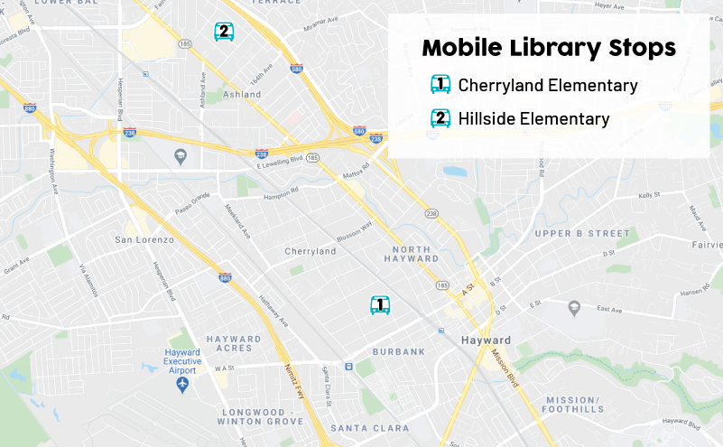 Mobile-Library-Map-Route-Template