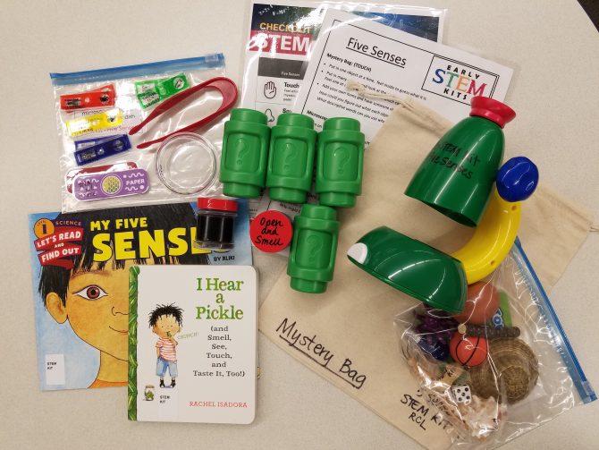 STEM Kit: 5 Senses
