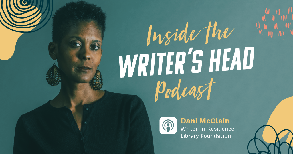 Writer-in-Residence podcast Inside the Writer's Head