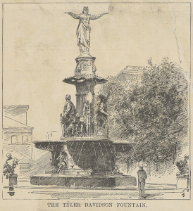 Tyler Davidson fountain in Digital Library