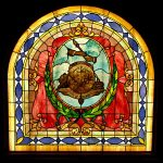 Historic stained glass window - City of CIncinnati