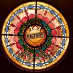 Historic stained glass window - History