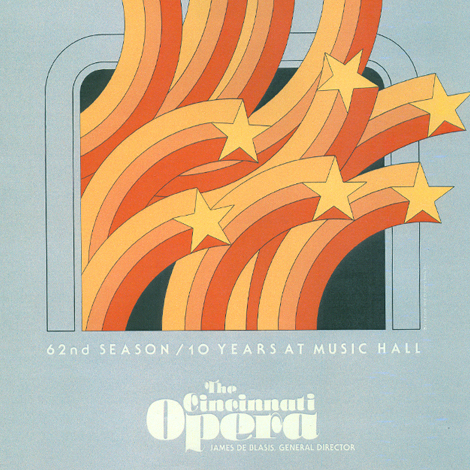 Cincinnati Opera Archives poster