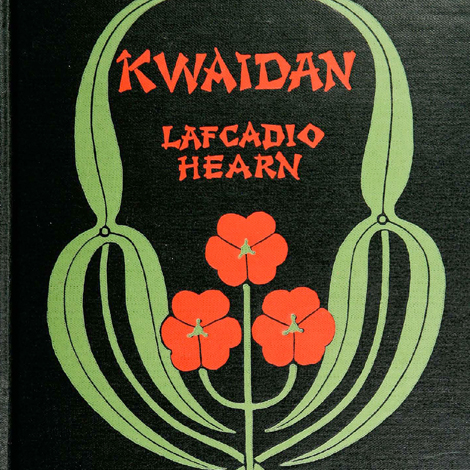Book cover from the Library's Lafcadio Hearn collection