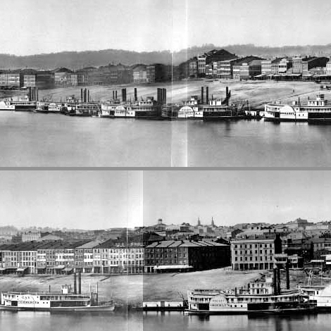 A crop from the Library's 1848 panorama