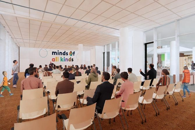 Downtown Main Library meeting room concept