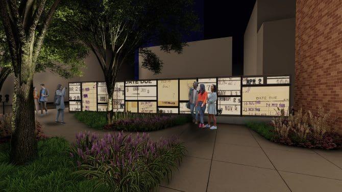 Exterior concept - Night - September 2021