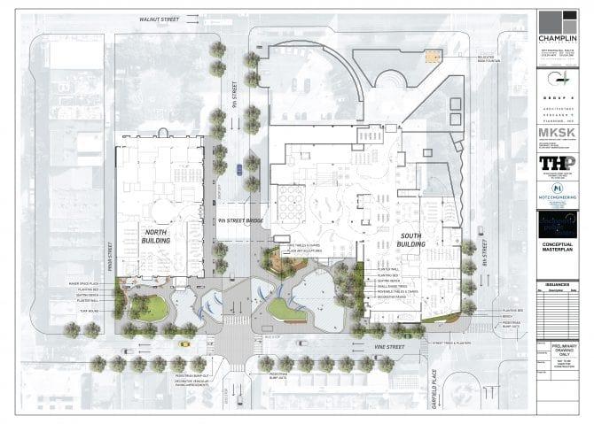 Exterior plan in progress - September 2021