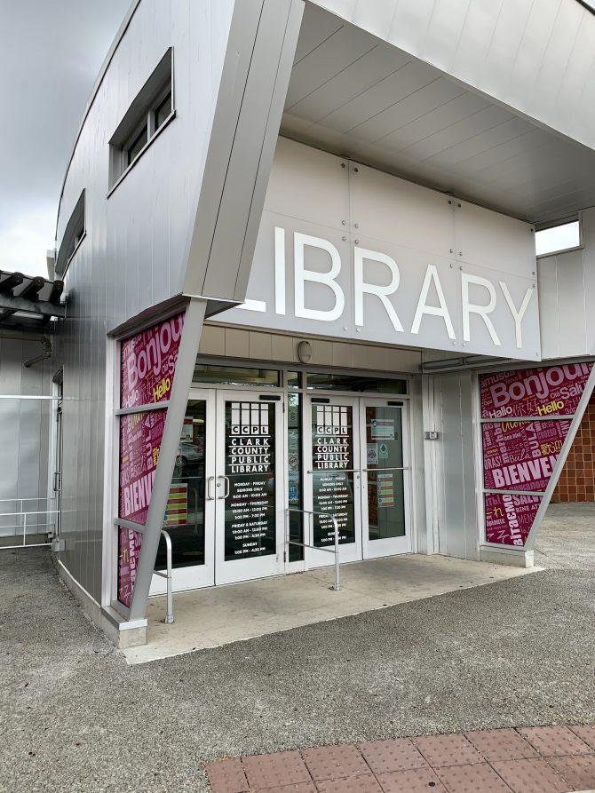 Main Library Entrance