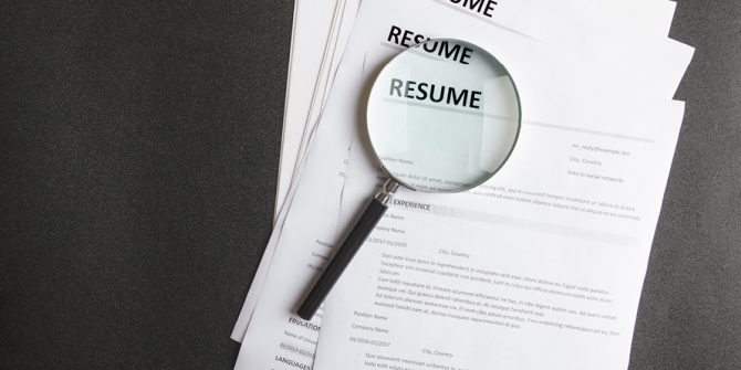 Resume under a magnifying glass, Brainfuse