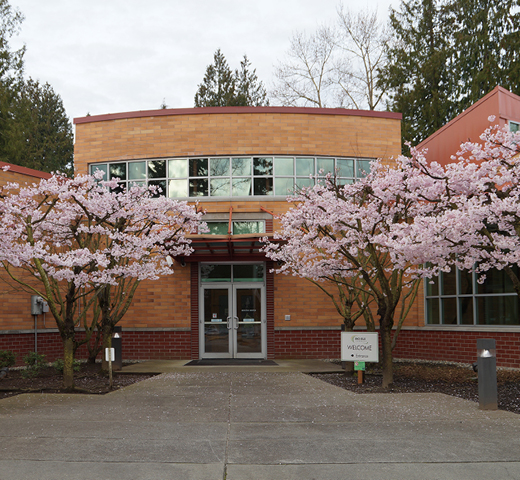Exterior of Sno-Isle Libraries Service Center