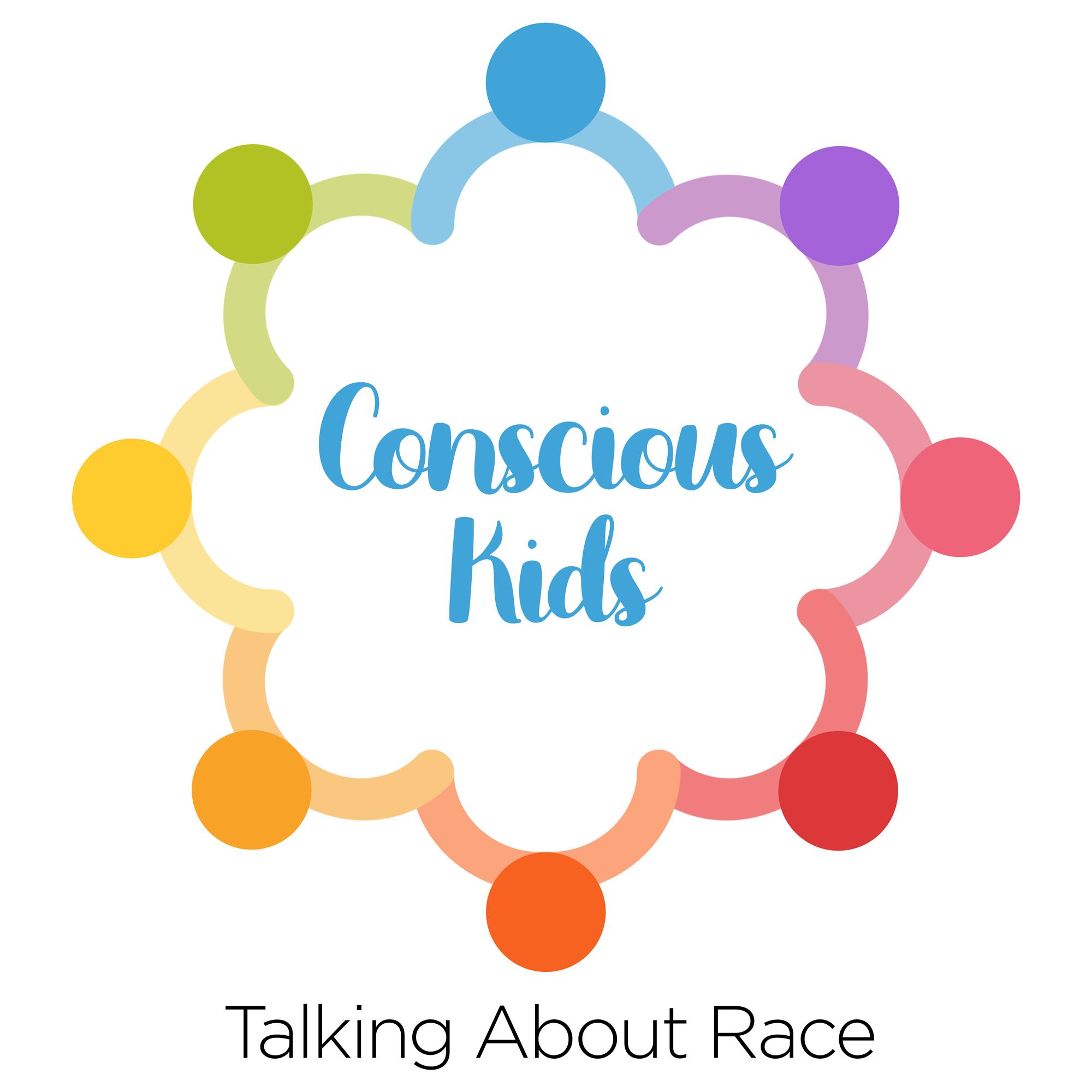 Conscious Kids Logo white