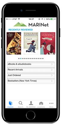 BiblioCommons mobile app