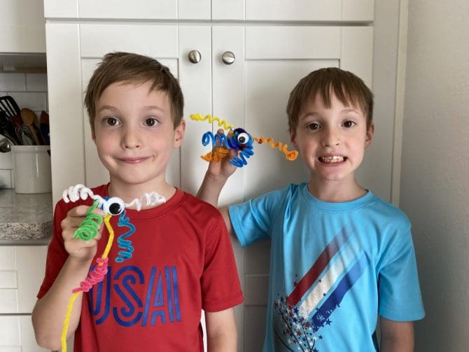 Pipecleaner creations