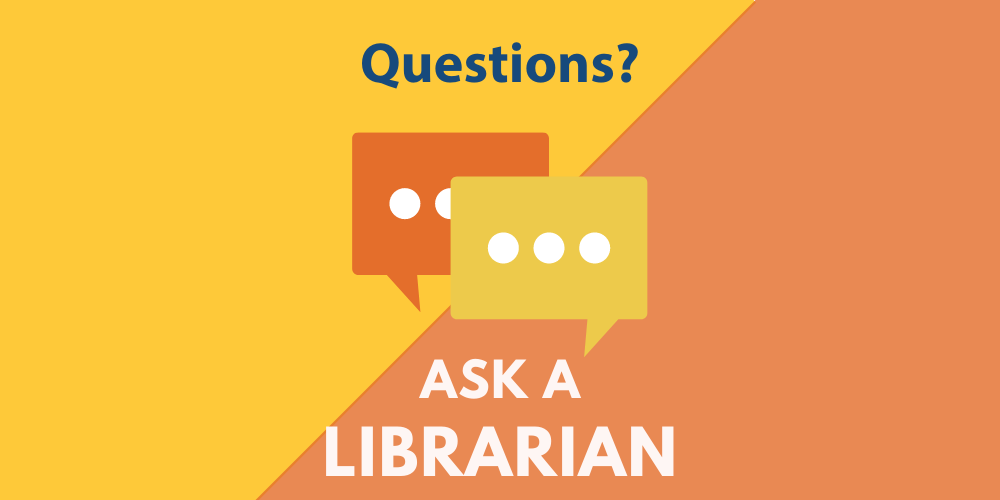 Ask A Librarian banner