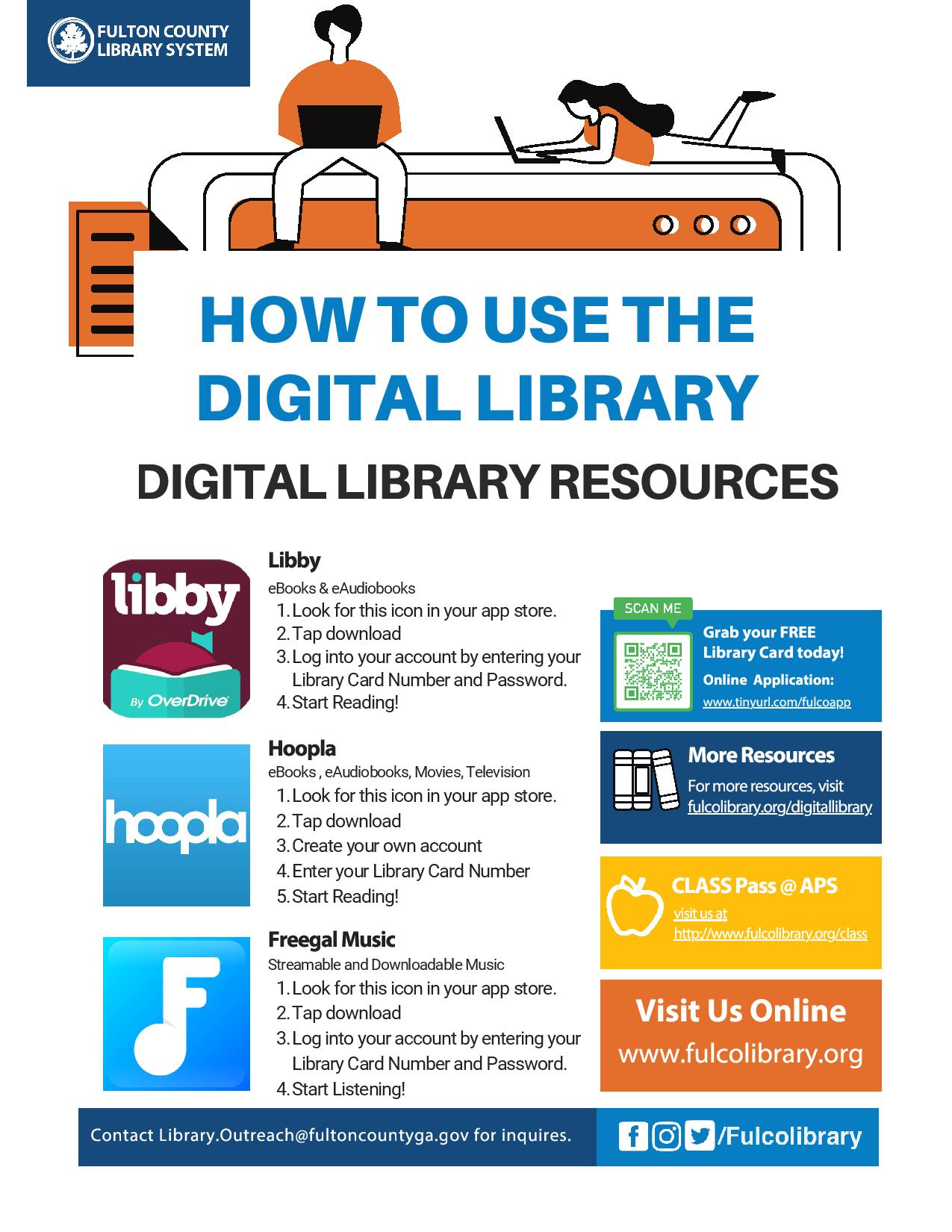How to Use the Digital Library