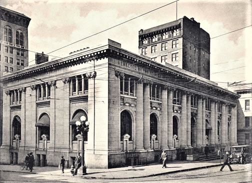 Early 1900's Drawing of Atlanta Carnegie Library