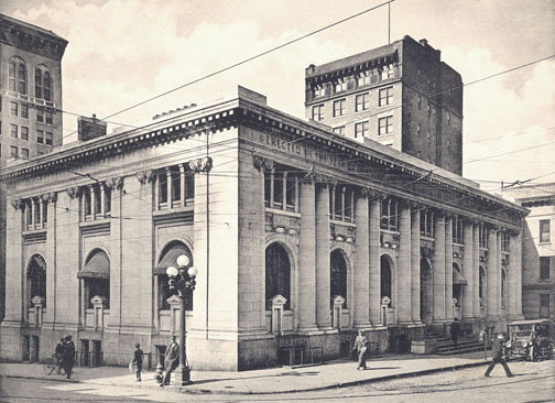 CENTRAL - CARNEGIE Atlanta Carnegie Library Exterior -early 1900s