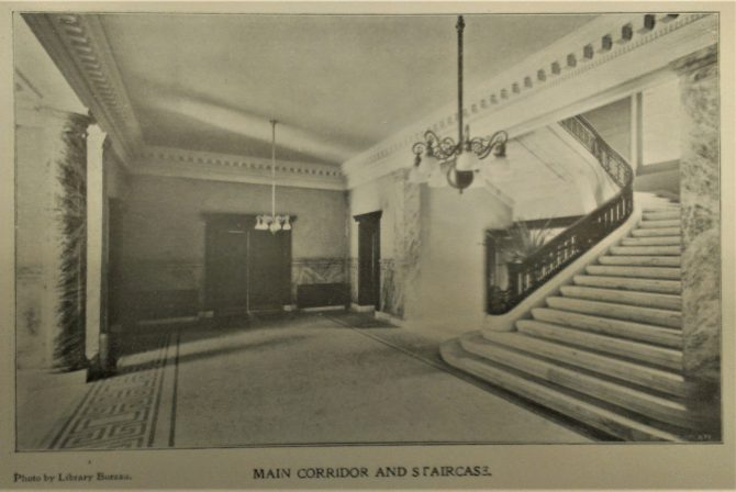 CENTRAL - CARNEGIE Carnegie Corridor and Stairs (3)
