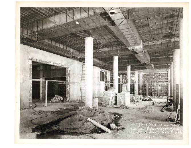 CENTRAL - CARNEGIE Carnegie Interior Renovation - 19500501