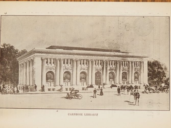 CENTRAL - CARNEGIE Carnegie Library of Atlanta Drawing