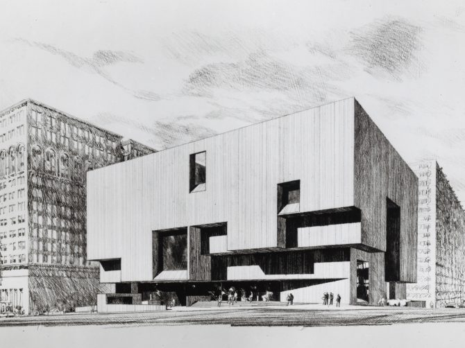 CENTRAL - BREUER Central Exterior - Architects Rendering