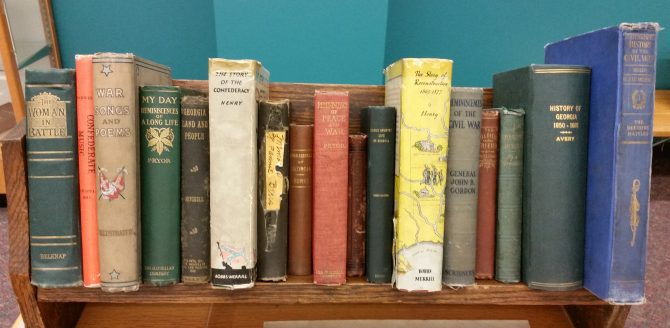 CENTRAL - MARGARET MITCHELL COLL. Personal Books