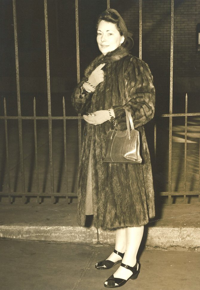 CENTRAL - MARGARET MITCHELL MM in fur