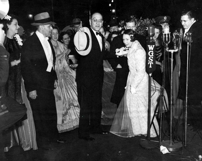 CENTRAL - MARGARET MITCHELL premiere night front-page