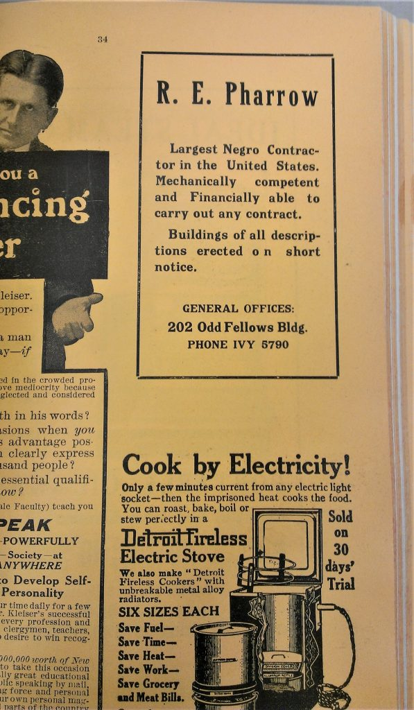 CENTRAL - CITY DIRECTORIES 1914 Ad (2)