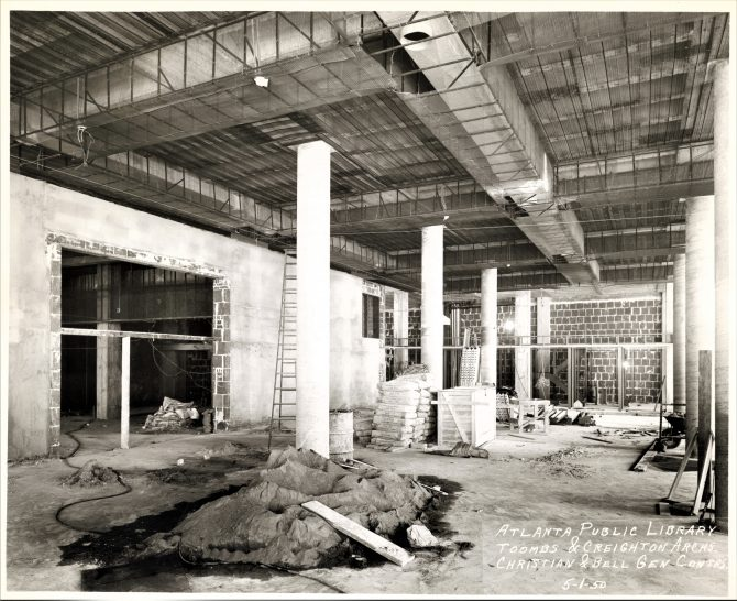 Atlanta Carnegie Library Interior Renovation