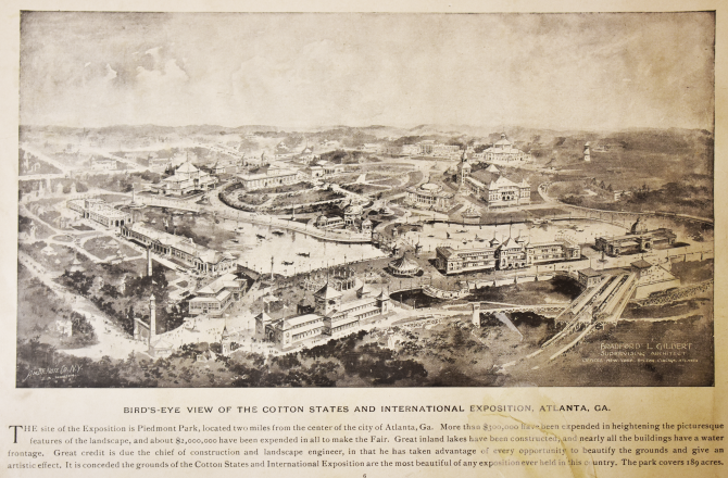 CENTRAL - GA HISTORY Cotton States and International Exposition