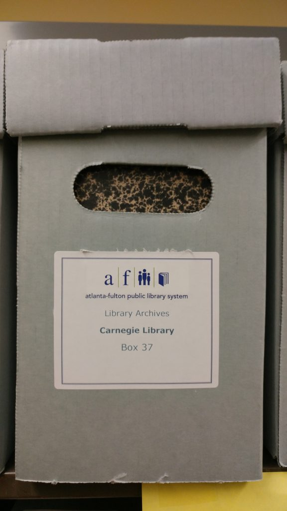 CENTRAL - CITY DIRECTORIES Carnegie Library Box 37