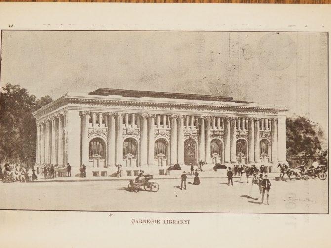 CENTRAL - CARNEGIE Carnegie Library of Atlanta Drawing