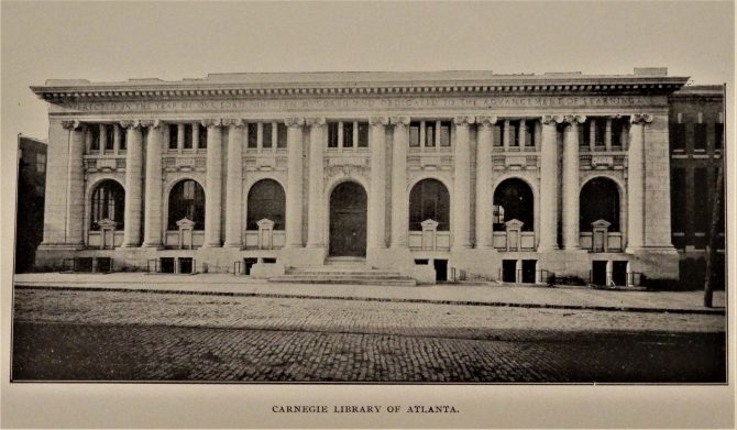 CENTRAL - CARNEGIE Carnegie Library of Atlanta Exterior Front (4)