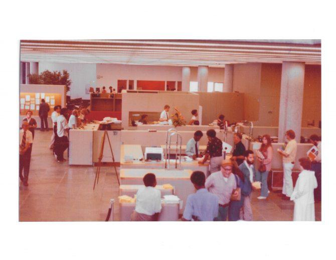 CENTRAL - BREUER Central Library Circulation Desk
