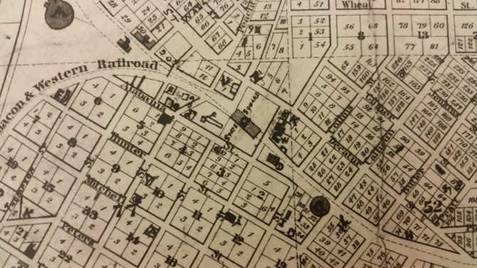 CENTRAL - GA HISTORY Vincent's Map - 5