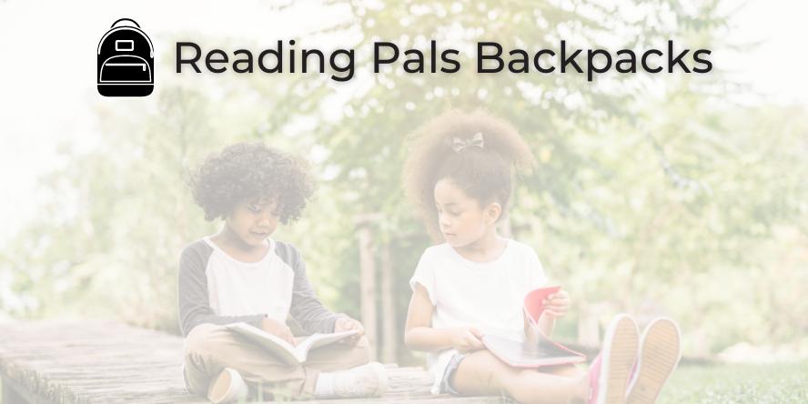 Reading Pals Backpacks